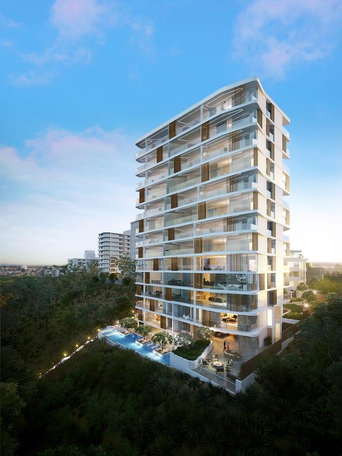 Eight Parker Full Building Render